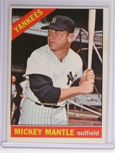 1966 Topps Mickey Mantle #50 VG-EX *48691