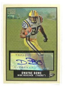 DELETE 13303 2009 Topps Magic Dwayne Bowe auto autograph #113 *30454