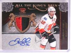 2011-12 Crown Royale Jarome Iginla All Kings Men Patch Autograph #D23/25 *55343