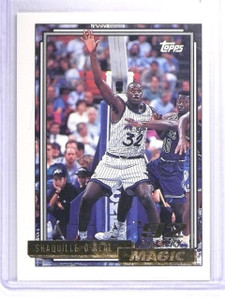 1992-93 Topps Gold Shaquille O'Neal Rookie RC #362 *63465