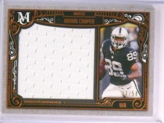 2015 Topps Museum Collection Amari Cooper Jumbo Jersey Bronze #33/50 *53657