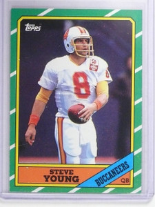 1986 Topps Steve Young Rookie RC #375 *64676