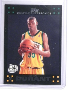 2007-08 Topps Kevin Durant Rookie RC #112 *64538