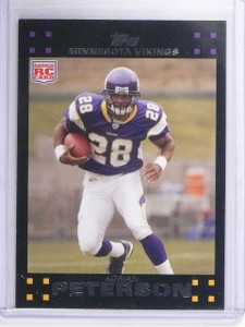 2007 Topps Adrian Peterson Rookie RC #301 *64692