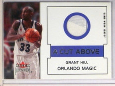 02-03 Fleer Premium A Cut Above Grant Hill jersey *32535
