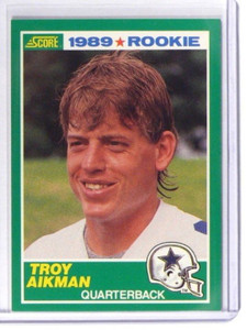1989 Score Troy Aikman rc rookie #270 *37773