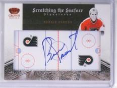 2010-11 Crown Royale Scratching The Surface Bernie Parent Autograph #D05/50 *575