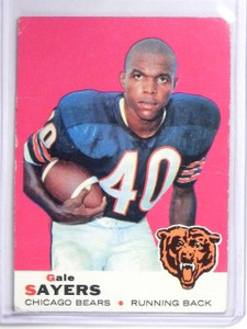 1969 Topps Gale Sayers #51 VG *60642