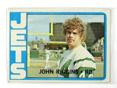 1972 Topps John Riggins rc rookie #13 EX *28747