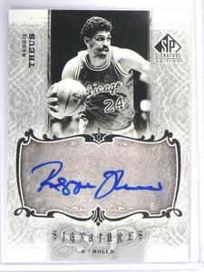 06-07 Sp Signature Reggie Theus auto autograph #SPS-rt *40878
