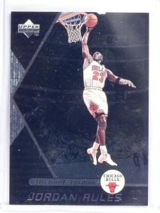 1998-99 Upper Deck Ovation Jordan Rules Michael Jordan #J8 *58357