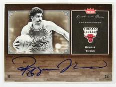 05-06 Fleer Greats Of the Game Reggie Theus auto autograph #GG-RT *28975