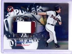 2002 Topps Pristine Popular Demand Chipper Jones Jersey #D0233/1000 #PDCJ *63601
