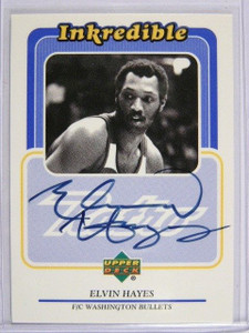 99-00 Upper Deck Retro Inkredible Elvin Hayes auto autograph #EH *28982