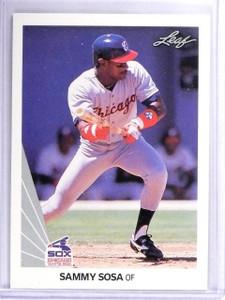 1990 Leaf Sammy Sosa Rookie RC #220 *63051