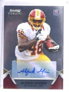 2012 Bowman Sterling Alfred Morris Rookie RC Autograph #117 *57508