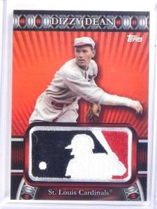 2010 Topps Manufactured MLB Logoman Patch Dizzy Dean #D39/50 #LM65 *59667