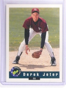 1992 Classic Draft Picks Derek Jeter Rookie RC #6 *61631