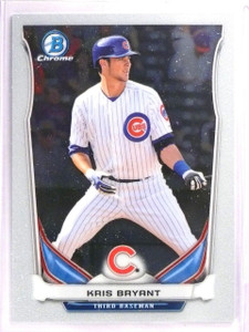 2014 Bowman Chrome Draft Top Prospects Kris Bryant rc rookie #CTP62 *55684