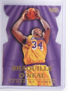 1997-98 Fleer Towers of Power Shaquille O'Neal #8 *64593