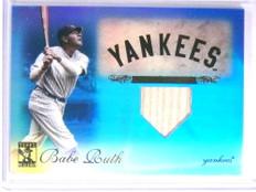 2009 Topps Tribute Blue Babe Ruth bat #D37/75 #1 *67633