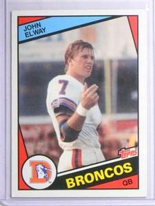 1984 Topps John Elway rc rookie #63 NM *67730