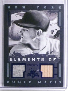 2016 Panini Diamond Kings Elements Roger Maris Jersey & Bat #D03/10 *67733