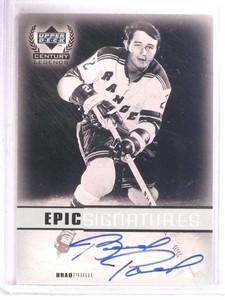 1999-00 Upper Deck Century Legends Epic Signatures Brad Park autograph *67836