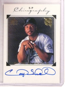 1998 Sp Authentic Chirography Gary Sheffield autograph auto #GS *67914