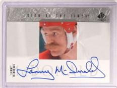 2003-04 Sp Authentic Sign Of The Times Lanny Mcdonald autograph auto *67929