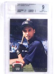 1993 Stadium Club Murphy Derek Jeter #117 BGS 9 MINT *67998