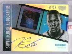 2015-16 Panini Gala Silver Screen Kevin Durant autograph auto #D25/35 *68051