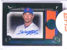 2016 Topps Museum Collection Swatches Matt Harvey autograph patch #D1/5 *68134