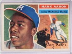 1956 Topps Hank Aaron #31  *68356