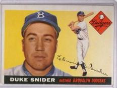 1955 Topps Duke Snider #210 VG *68388