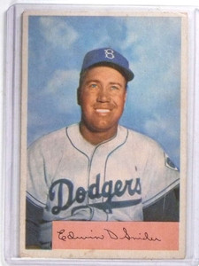 1954 Bowman Duke Snider #170 VG *68389