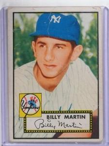 1952 Topps Billy Martin #175 Fair *68399