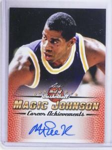 2017 Leaf Best Of Basketball Magic Johnson autograph auto #MJ6 *68384