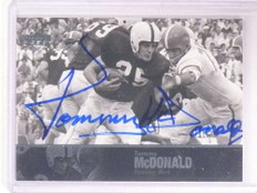 2011 Upper Deck Legends Tommy Mcdonald autograph auto *68521