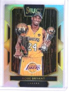 2016-17 Panini Select Kobe Bryant w/ Trophies Prizm Refractor #292 *69149