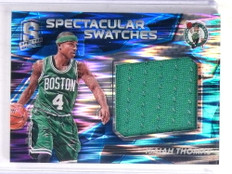 2016-17 Panini Spectra Spectaculer Swatches Isaiah Thomas jersey #D12/99 *69459