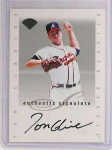 1996 Leaf Extended Tom Glavine autograph auto Braves sp! *69739 ID: 16634