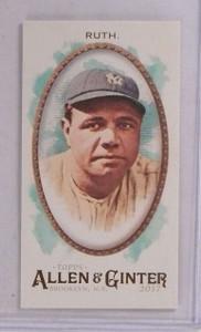2017 Topps Allen & Ginter Mini Brooklyn Back Babe Ruth #D16/25 #4 *69722 ID: 16670
