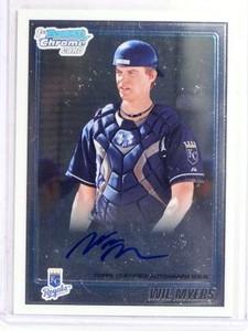 2010 Bowman Chrome Wil Myers autograph auto rc rookie #BCP117 *69898