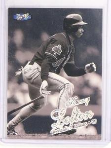 1998 Fleer Ultra Platinum Medallion Kenny Lofton #D71/98 #337P *69815