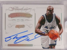 2014-15 Panini Flawless Super Signatures Shaquille O'neal autograph #/25 *69969