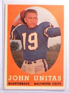 1958 Topps Johnny Unitas #22 VG-EX *70059