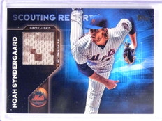 2016 Topps Scouting Report Noah Syndergaard Jersey #SRRNS *70702