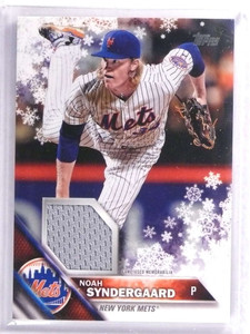 2016 Topps Holiday Relics Noah Syndergaard Jersey #RNS *70705