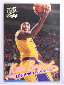 1996-97 Fleer Ultra Kobe Bryant Rookie RC #52 *70445